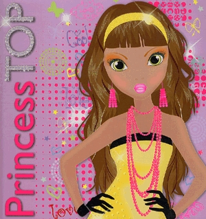 Könyv: Princess TOP - Design your dress (purple)