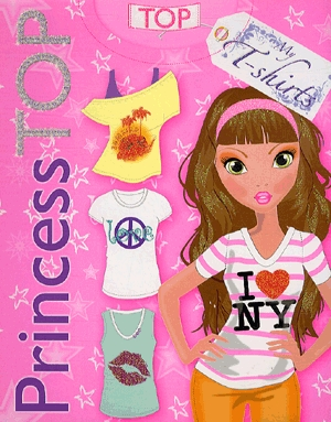 Könyv: Princess TOP - My T-shirts (pink)